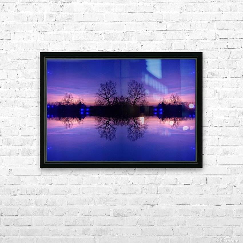 Cloudes 91 HD Sublimation Metal print with Decorating Float Frame (BOX)
