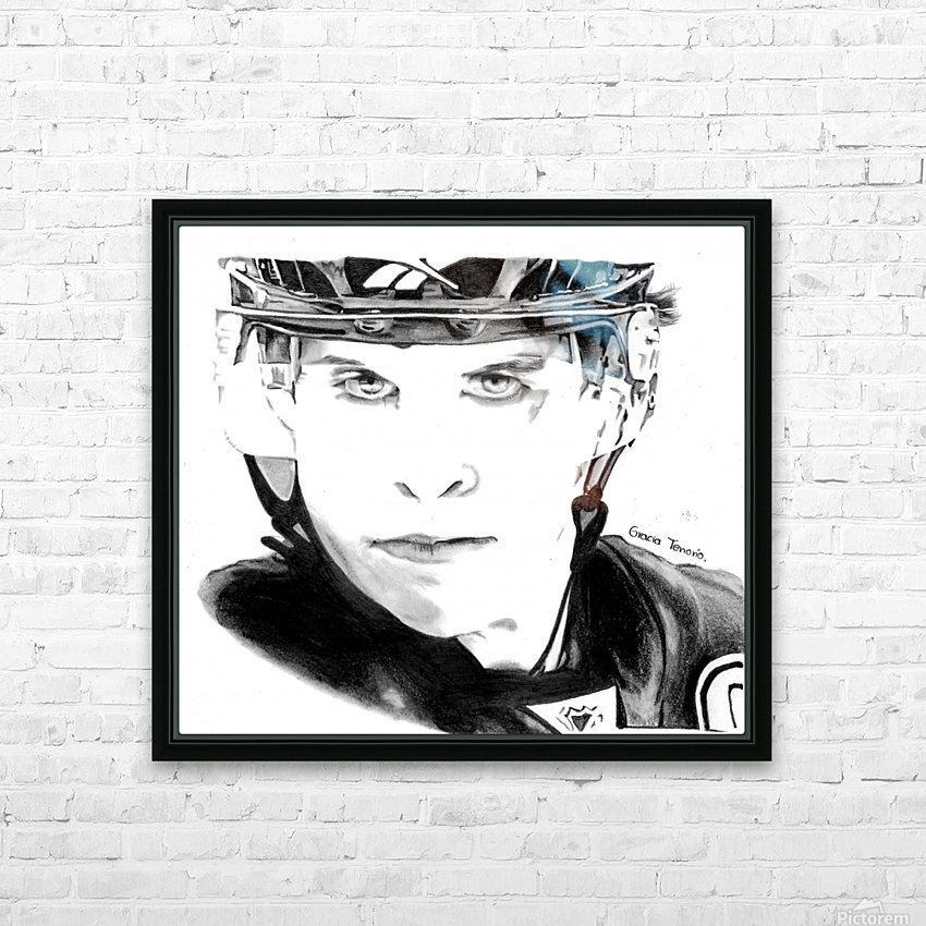 Great player HD Sublimation Metal print with Decorating Float Frame (BOX)