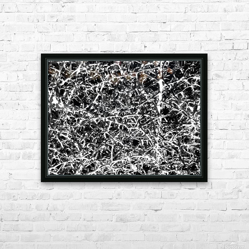 Black & White Nature HD Sublimation Metal print with Decorating Float Frame (BOX)