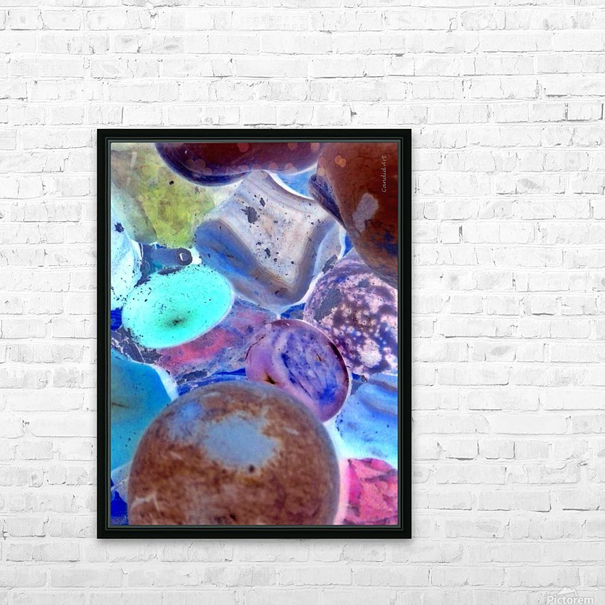 Original Gems 20160715 HD Sublimation Metal print with Decorating Float Frame (BOX)