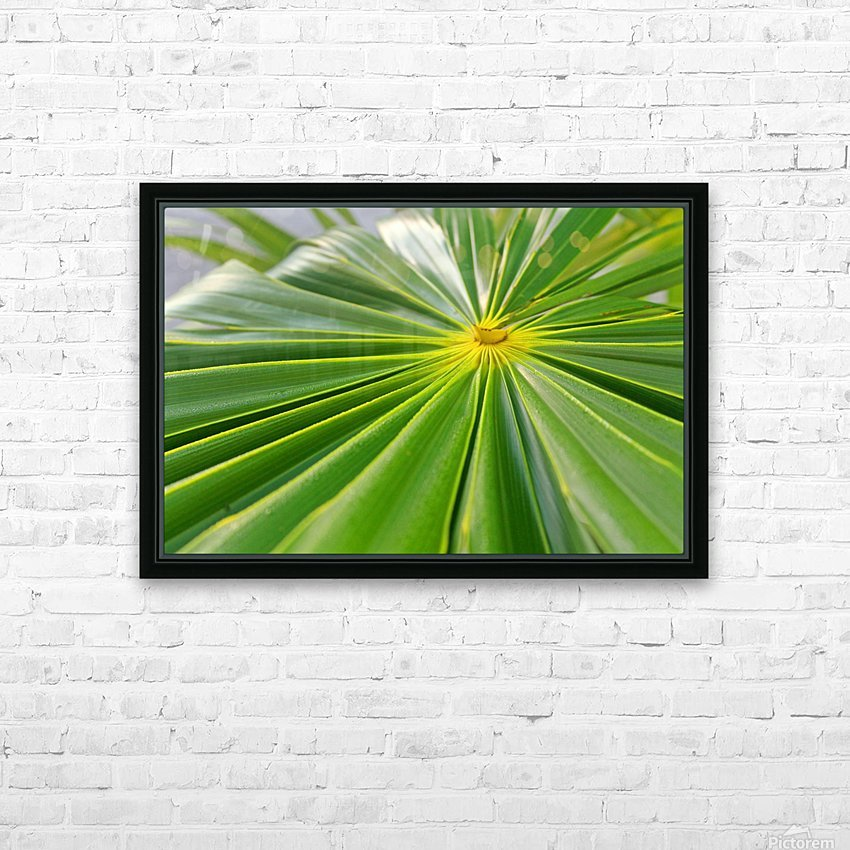 Beautiful Green HD Sublimation Metal print with Decorating Float Frame (BOX)