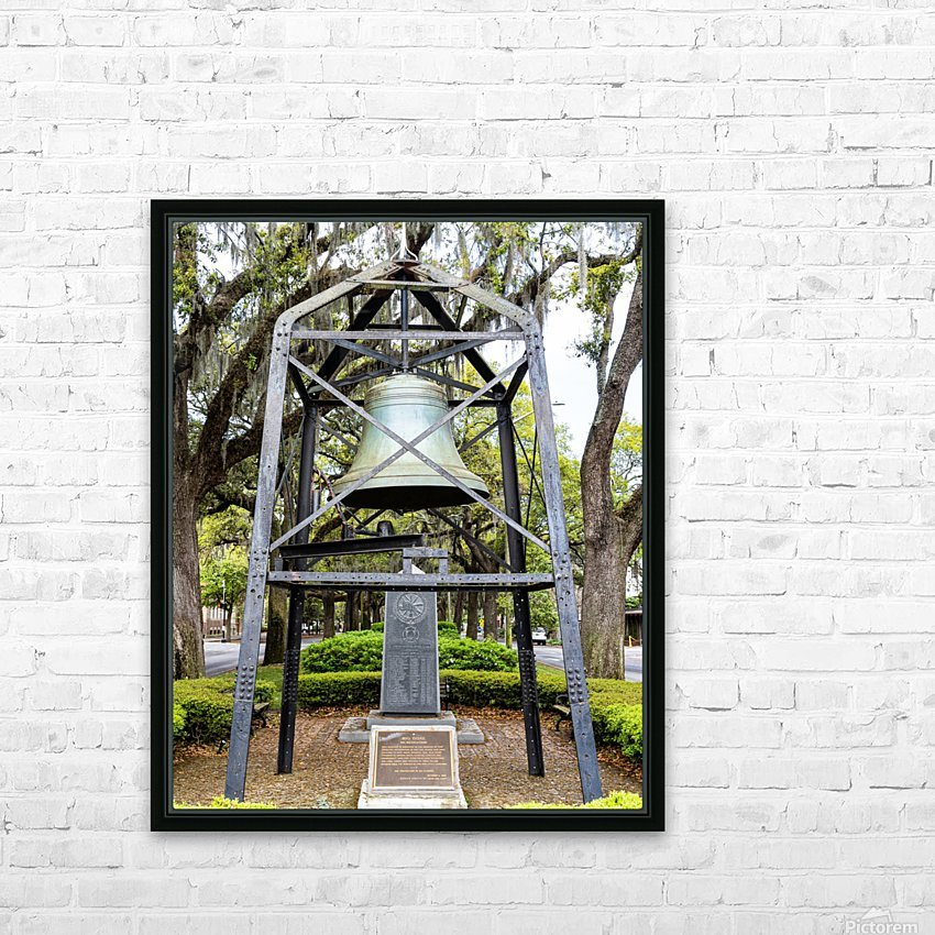 Big Duke Alarm Bell   Savannah 04146 HD Sublimation Metal print with Decorating Float Frame (BOX)