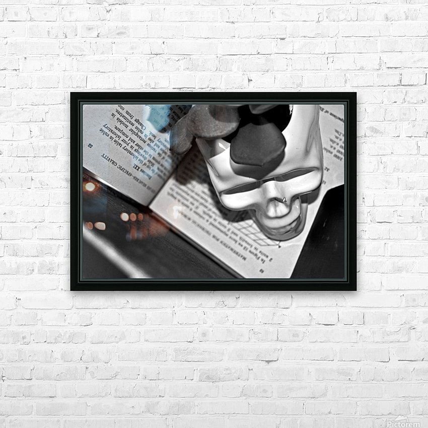 Box Me In HD Sublimation Metal print with Decorating Float Frame (BOX)