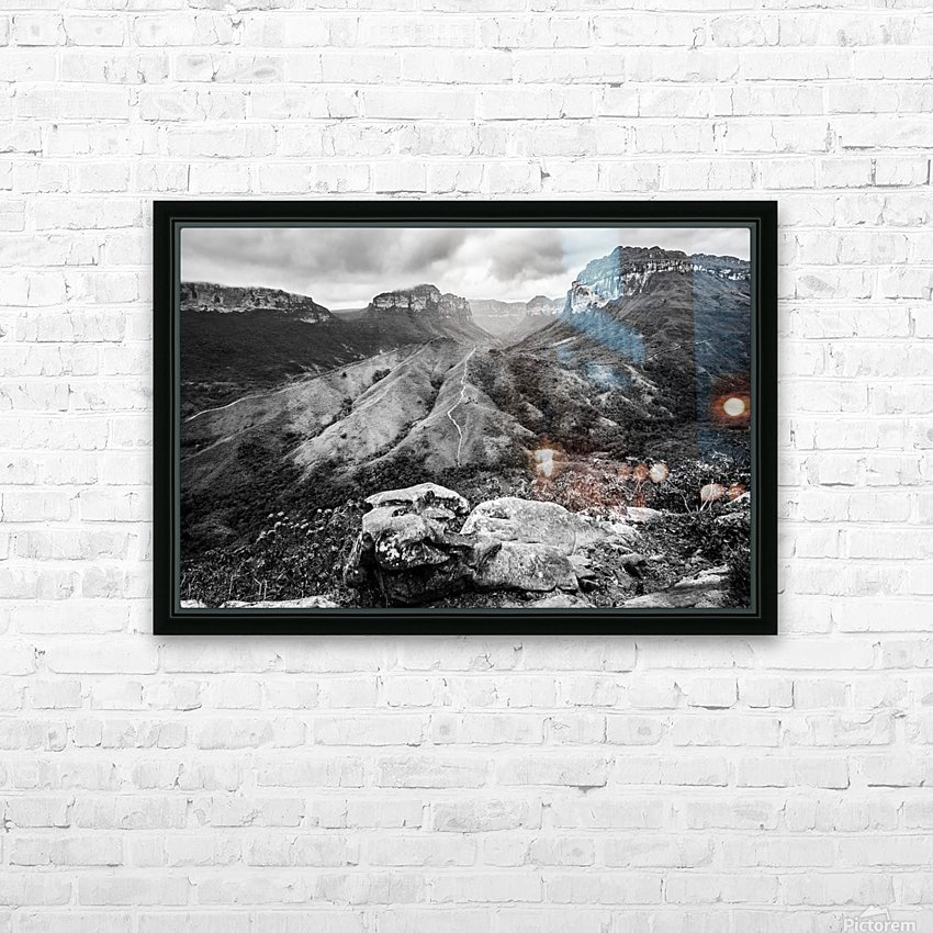 Vale do Pati Brazil HD Sublimation Metal print with Decorating Float Frame (BOX)