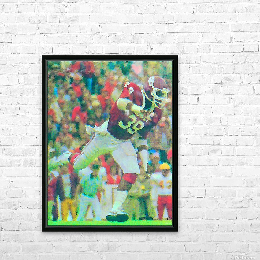 All American Kevin Murphy 39 Defensive End Oklahoma Football Art_OU Sooners Wall Art HD Sublimation Metal print with Decorating Float Frame (BOX)