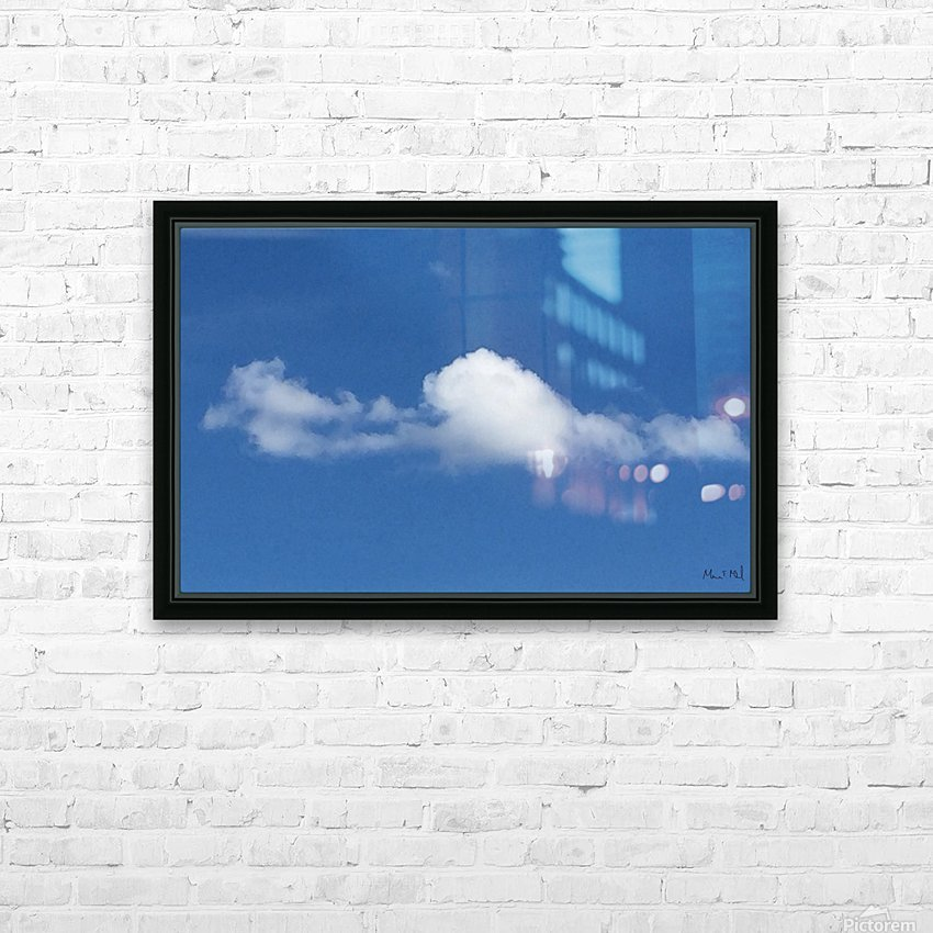 MacPan Clouds from Maurice Elliott McLeod HD Sublimation Metal print with Decorating Float Frame (BOX)