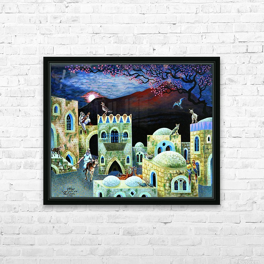 1996 02 HD Sublimation Metal print with Decorating Float Frame (BOX)