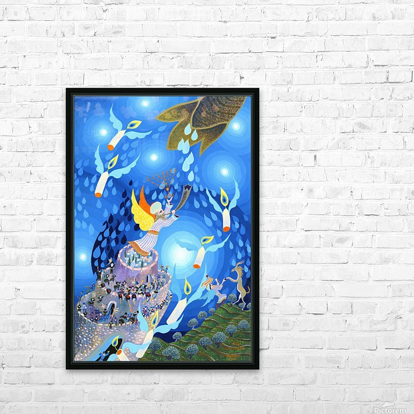 1992 01 HD Sublimation Metal print with Decorating Float Frame (BOX)