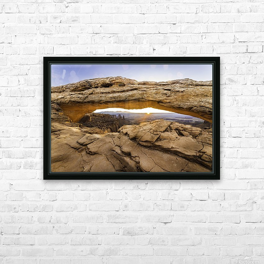 The Great Eye 2 HD Sublimation Metal print with Decorating Float Frame (BOX)