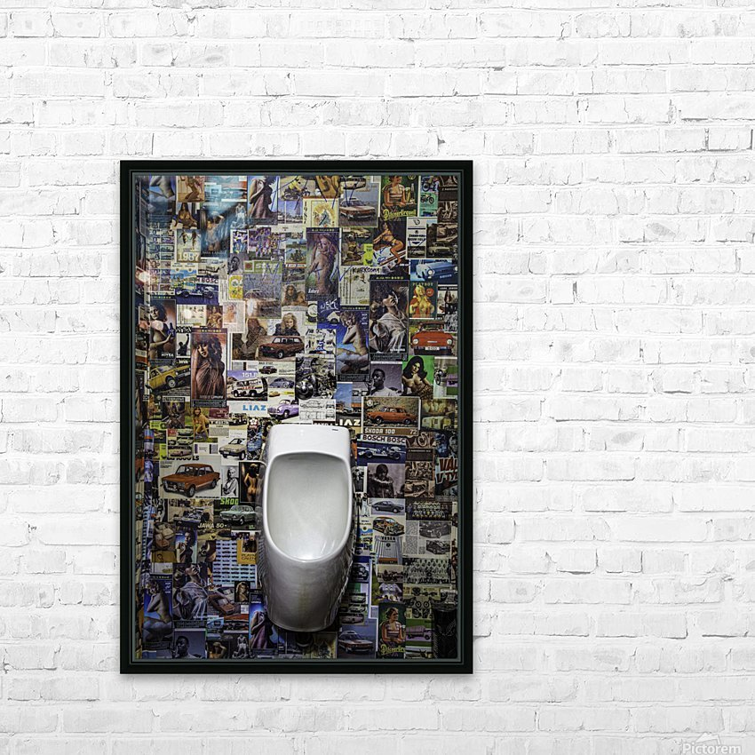 The Bowl HD Sublimation Metal print with Decorating Float Frame (BOX)