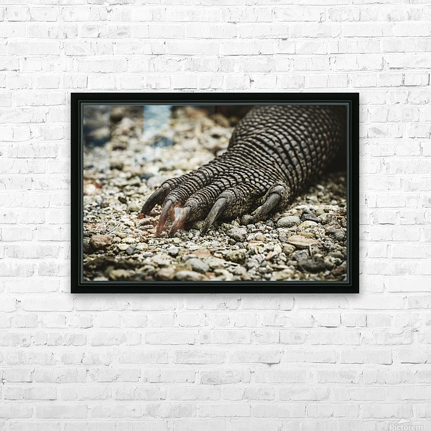 Dragons Claw HD Sublimation Metal print with Decorating Float Frame (BOX)