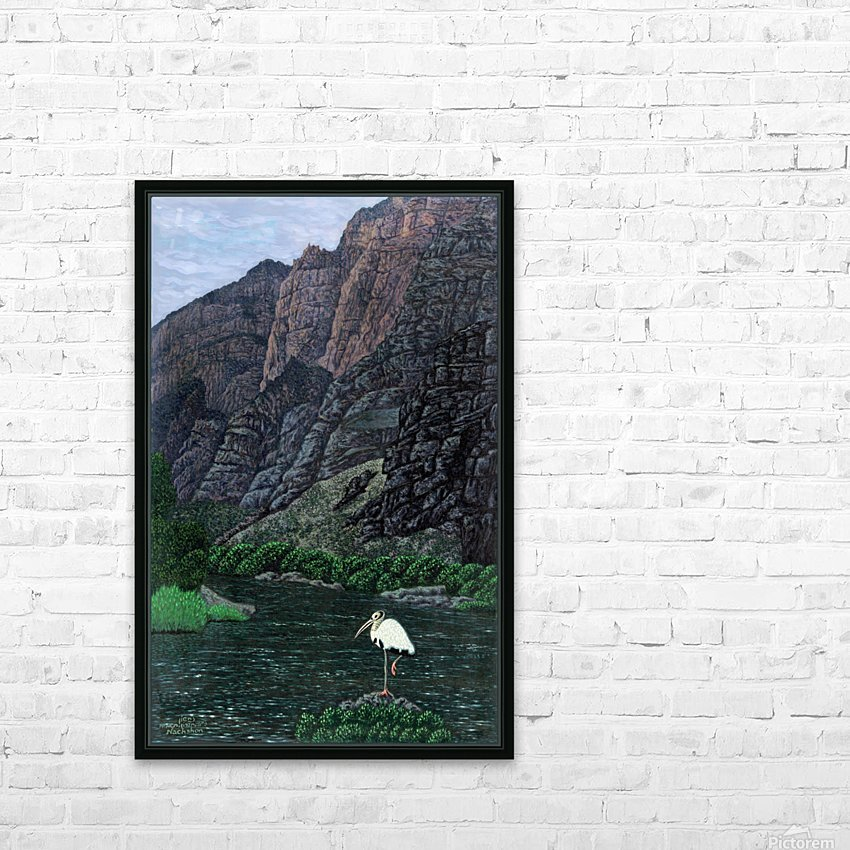 1988 014 HD Sublimation Metal print with Decorating Float Frame (BOX)