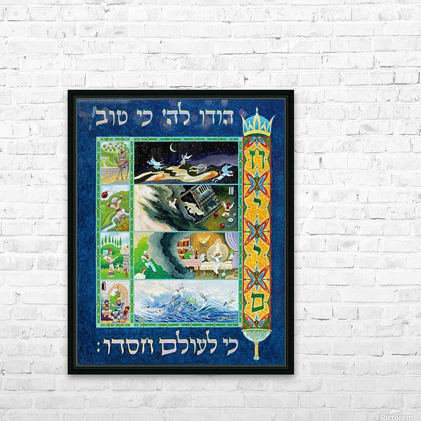 1994 010 HD Sublimation Metal print with Decorating Float Frame (BOX)