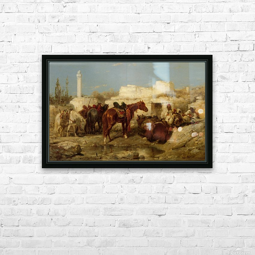 The Oasis HD Sublimation Metal print with Decorating Float Frame (BOX)