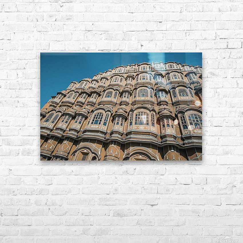 The Fortress - Hawa Mahal II HD Sublimation Metal print with Decorating Float Frame (BOX)