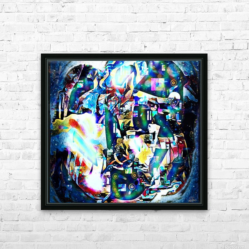 Dance Of Creative Mind  HD Sublimation Metal print with Decorating Float Frame (BOX)