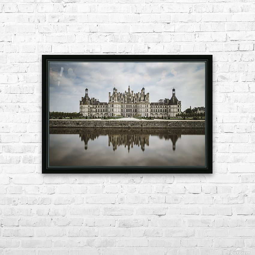 Chateau Chambord  HD Sublimation Metal print with Decorating Float Frame (BOX)