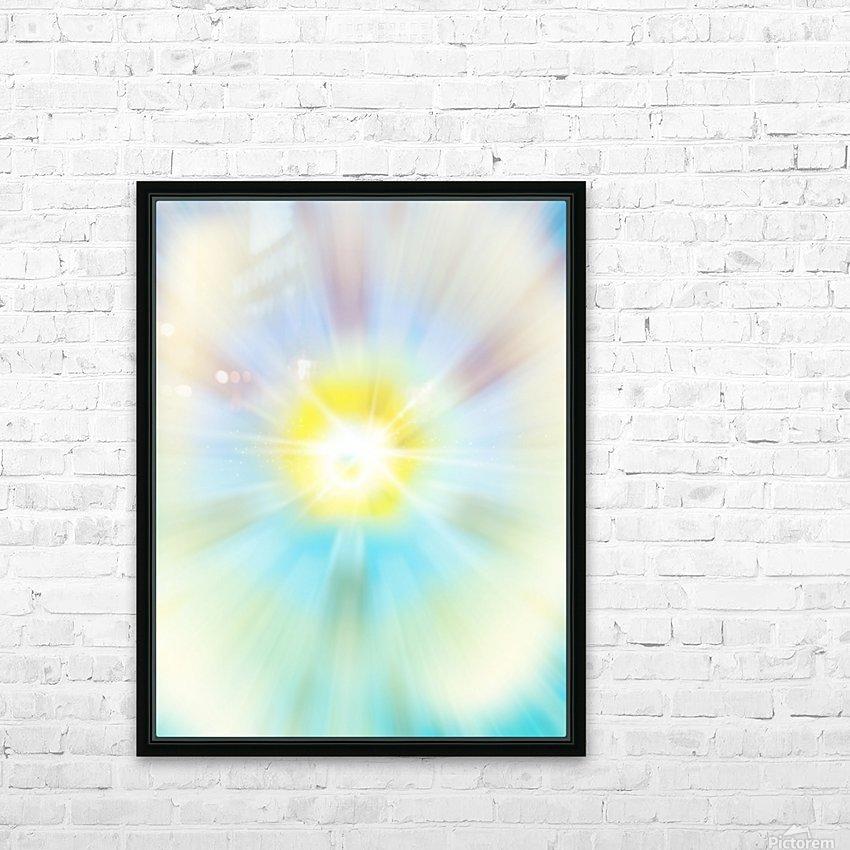 Dandelion HD Sublimation Metal print with Decorating Float Frame (BOX)