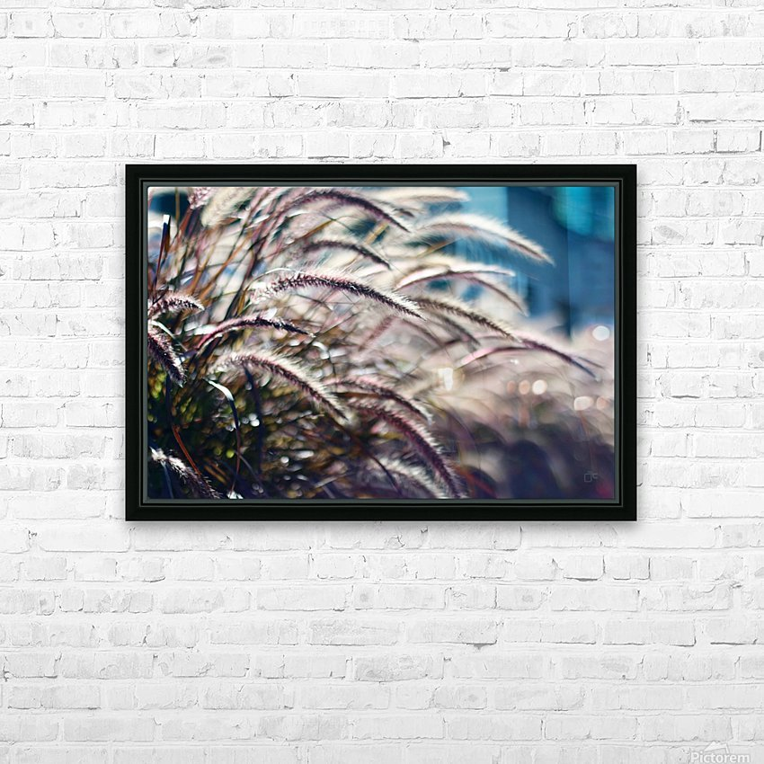 Plants HD Sublimation Metal print with Decorating Float Frame (BOX)