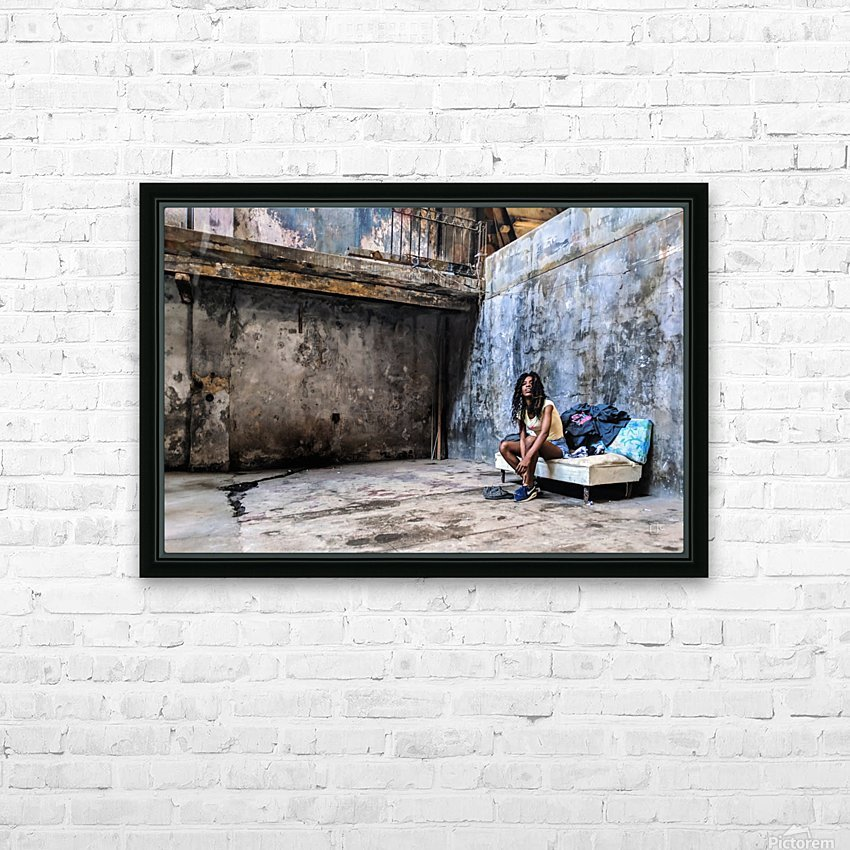 Cuban Dancer  HD Sublimation Metal print with Decorating Float Frame (BOX)