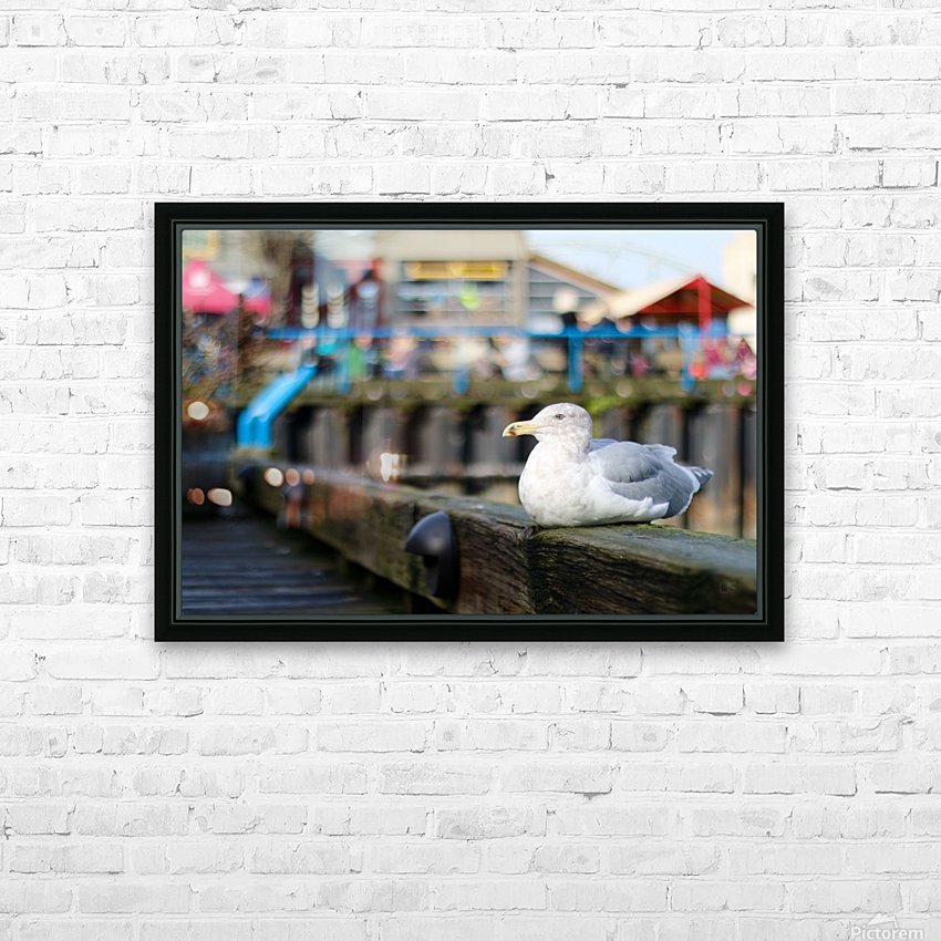 Seagul HD Sublimation Metal print with Decorating Float Frame (BOX)