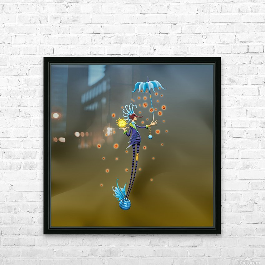 Noppo Ombrello Azure HD Sublimation Metal print with Decorating Float Frame (BOX)