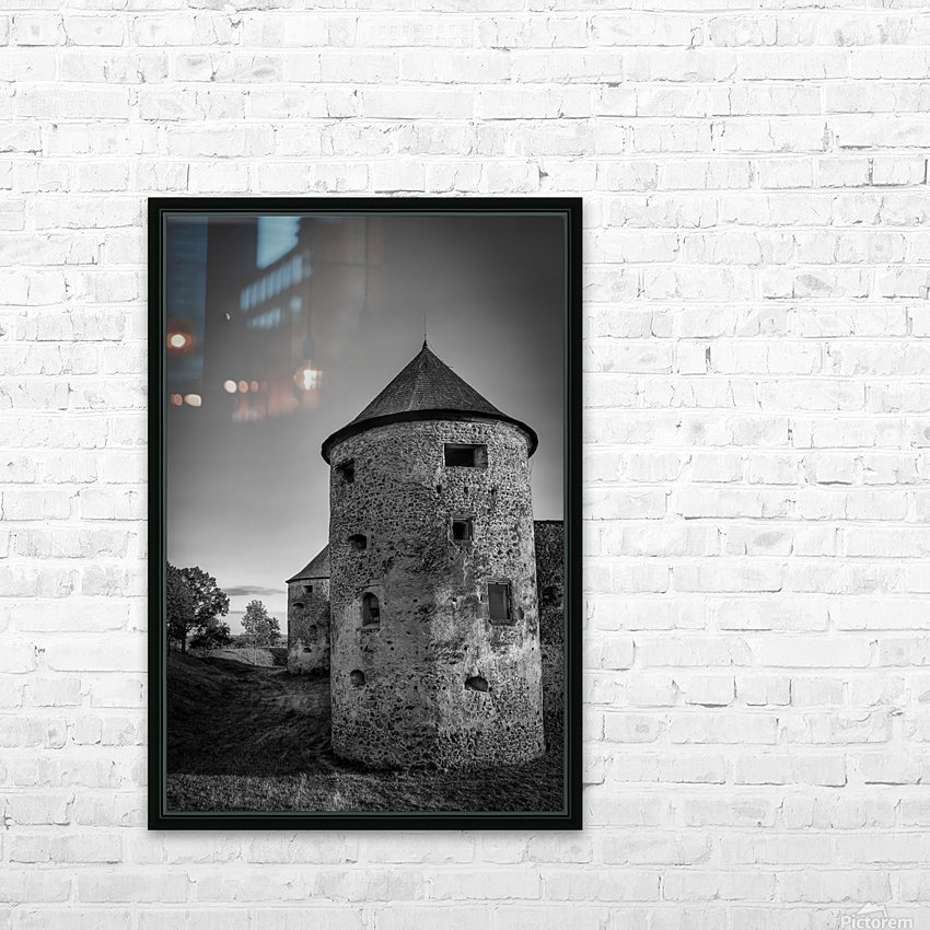 Old castle tower HD Sublimation Metal print with Decorating Float Frame (BOX)