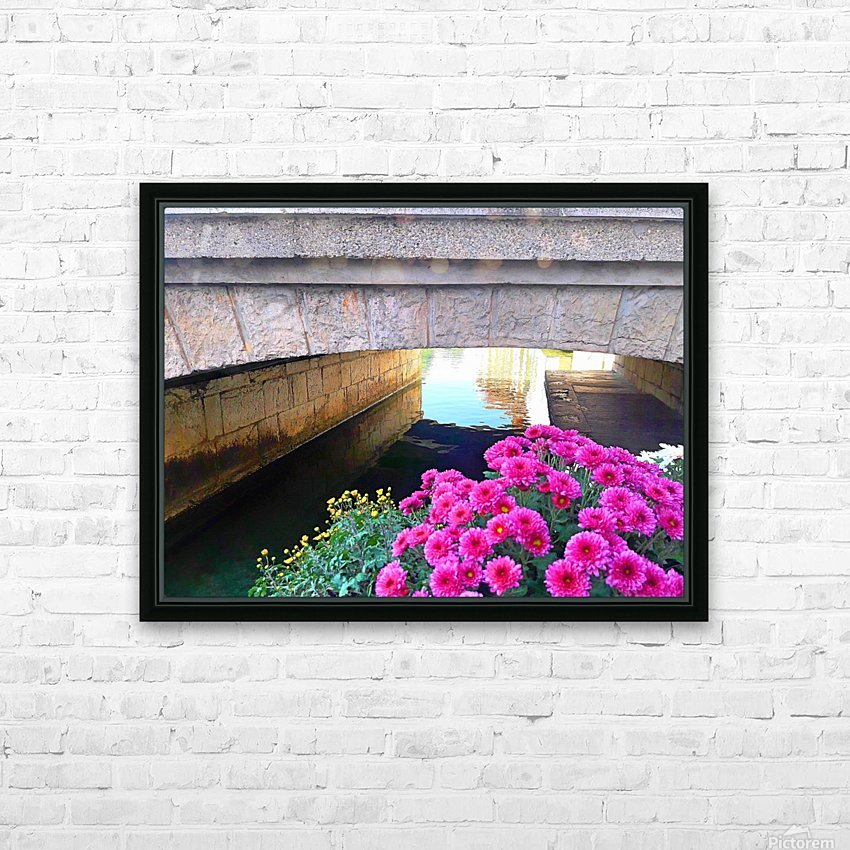 France Water Under The Bridge HD Sublimation Metal print with Decorating Float Frame (BOX)