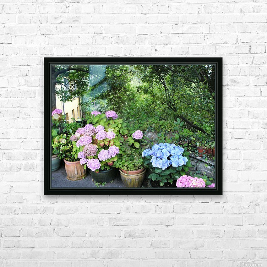 Stuffed in a Pot HD Sublimation Metal print with Decorating Float Frame (BOX)
