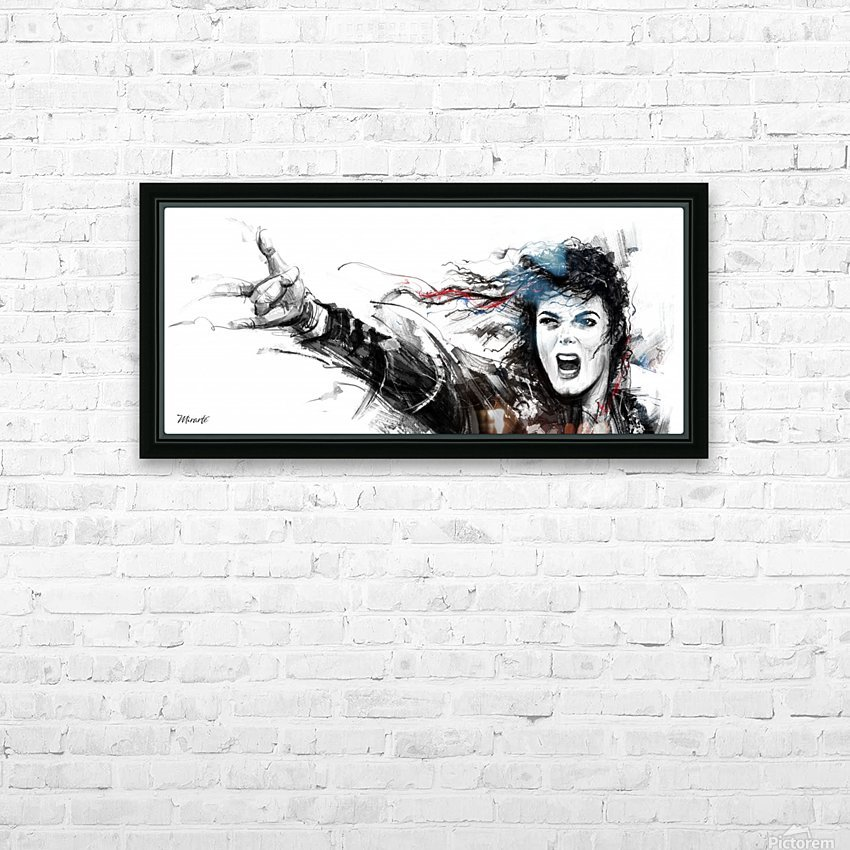 MICHAEL JACKSON HD Sublimation Metal print with Decorating Float Frame (BOX)