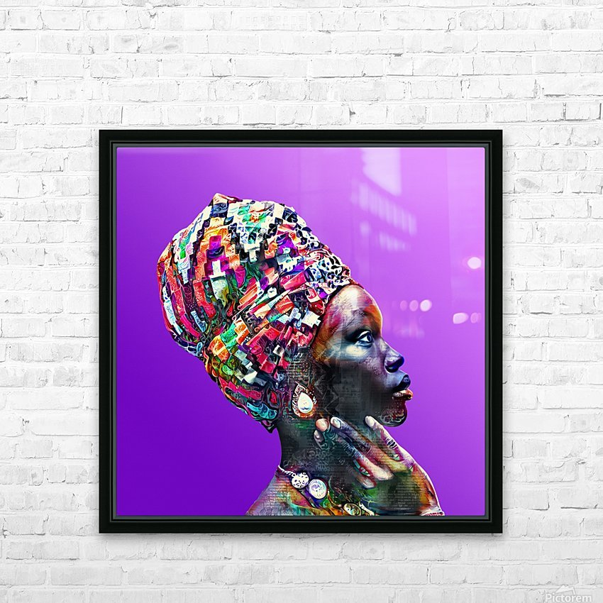 ColorThroughCulture VI HD Sublimation Metal print with Decorating Float Frame (BOX)