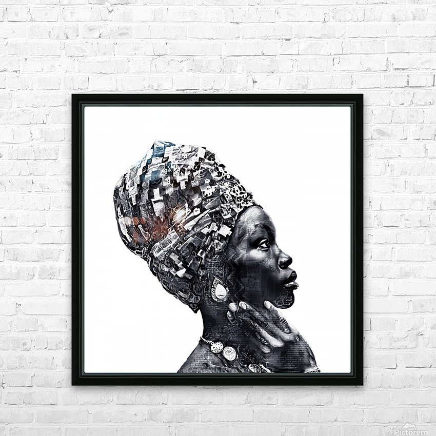 Color Through Culture III HD Sublimation Metal print with Decorating Float Frame (BOX)