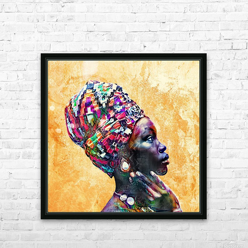 Color Through Culture I HD Sublimation Metal print with Decorating Float Frame (BOX)
