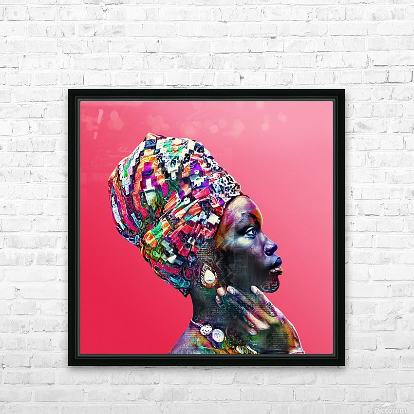 Color Through Culture VII HD Sublimation Metal print with Decorating Float Frame (BOX)