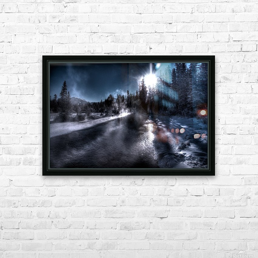 Policemans Creek _ 37 Degrees Celcius HD Sublimation Metal print with Decorating Float Frame (BOX)