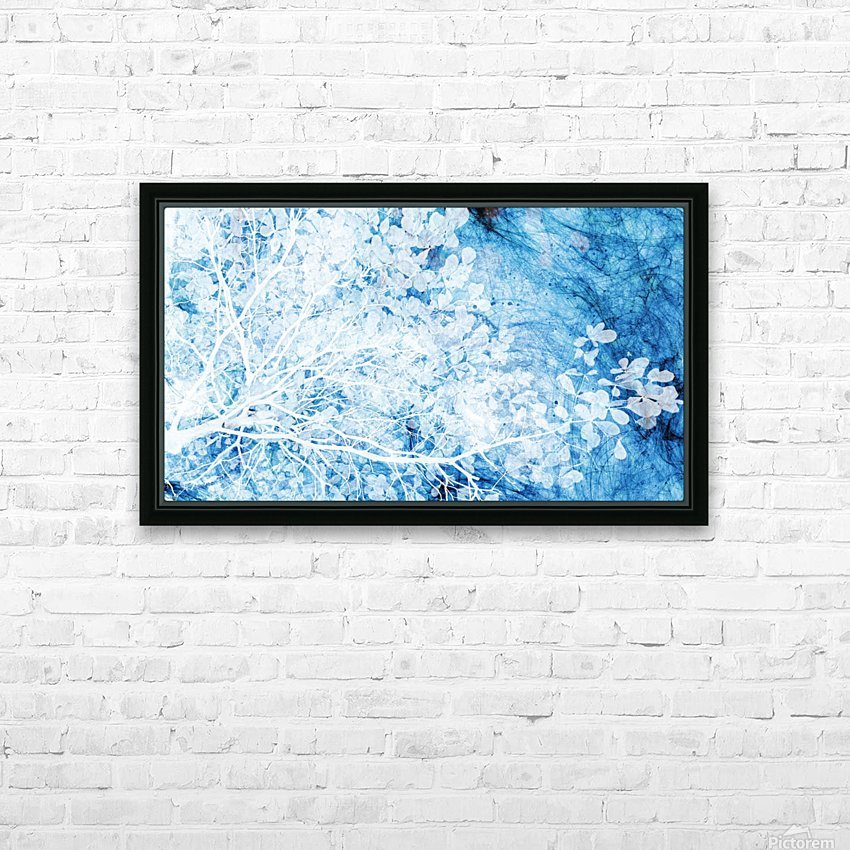 Indigo Dream HD Sublimation Metal print with Decorating Float Frame (BOX)