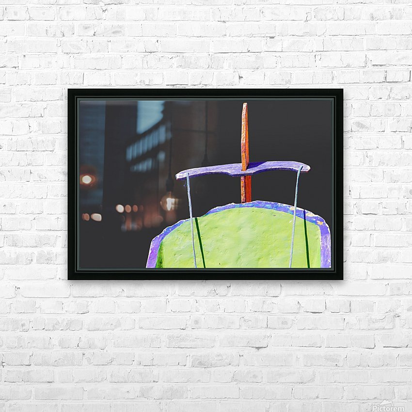 Boat - XIX HD Sublimation Metal print with Decorating Float Frame (BOX)