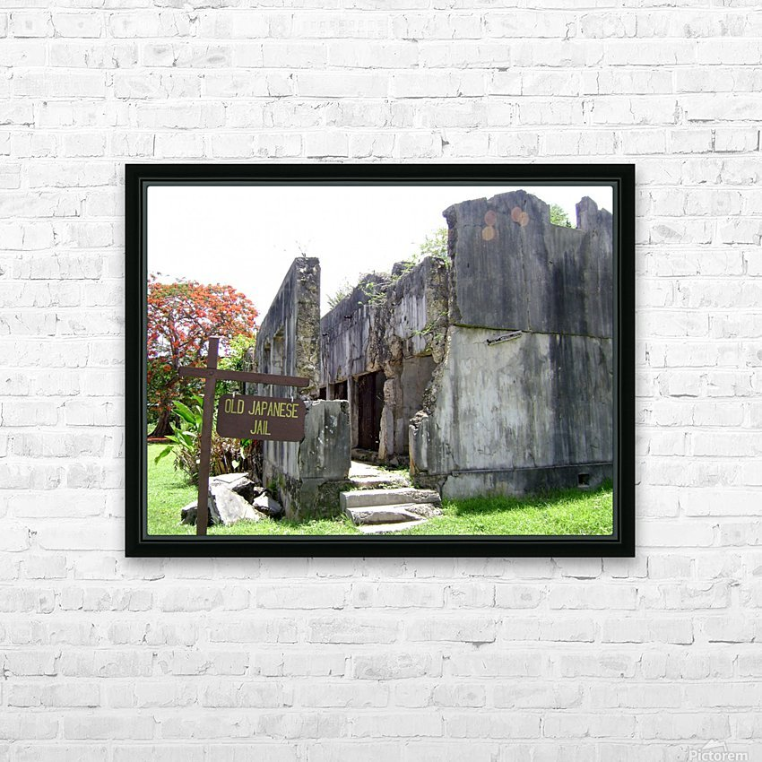 Old Japanese Jail  HD Sublimation Metal print with Decorating Float Frame (BOX)