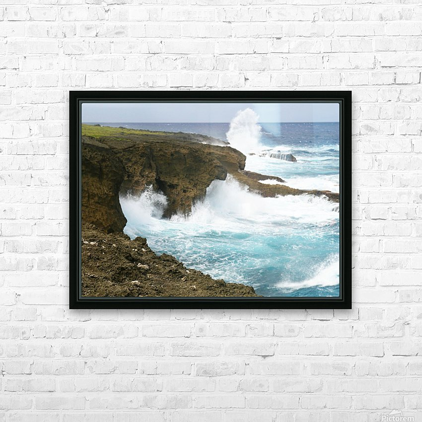 Mesmerizing Danger HD Sublimation Metal print with Decorating Float Frame (BOX)