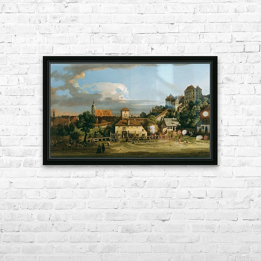 Pirna - The Obertor from the South HD Sublimation Metal print with Decorating Float Frame (BOX)