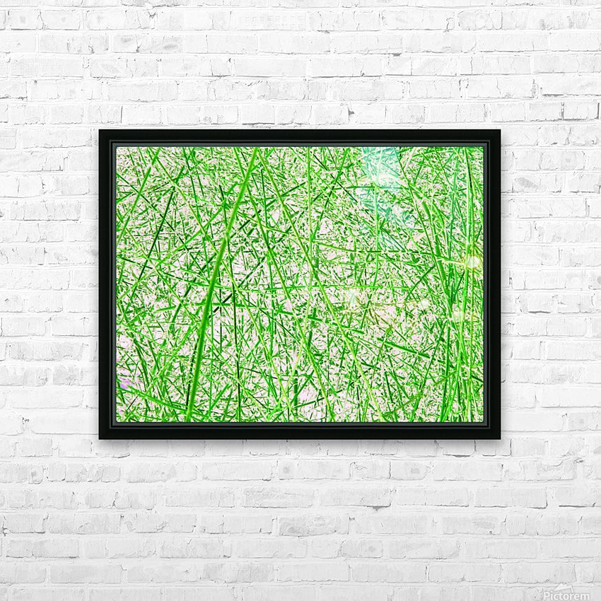 Natures Line Drawing HD Sublimation Metal print with Decorating Float Frame (BOX)