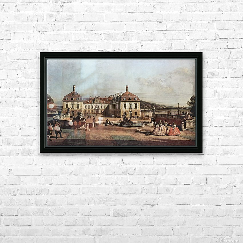 The imperial summer residence, courtyard HD Sublimation Metal print with Decorating Float Frame (BOX)