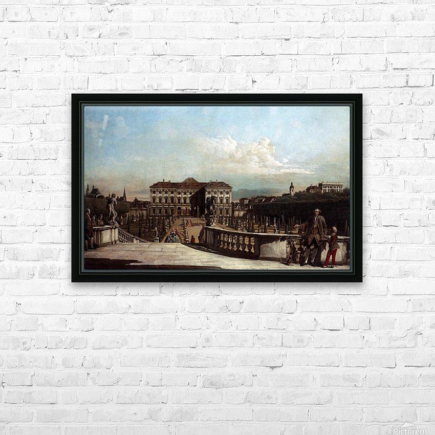 Liechtenstein Garden Palace in Vienna HD Sublimation Metal print with Decorating Float Frame (BOX)
