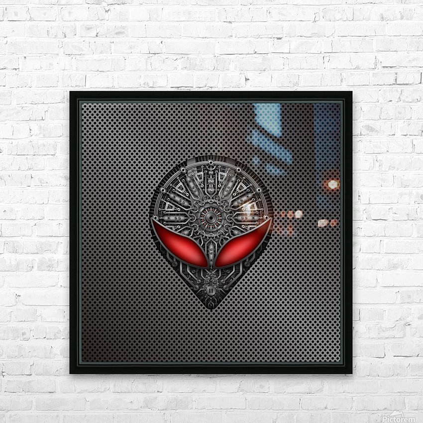 Altered Carbon Red Eye Reactor HD Sublimation Metal print with Decorating Float Frame (BOX)