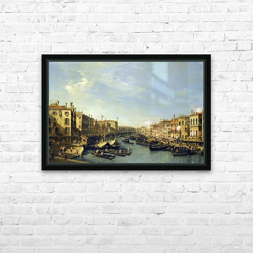 Venice - The Grand Canal HD Sublimation Metal print with Decorating Float Frame (BOX)
