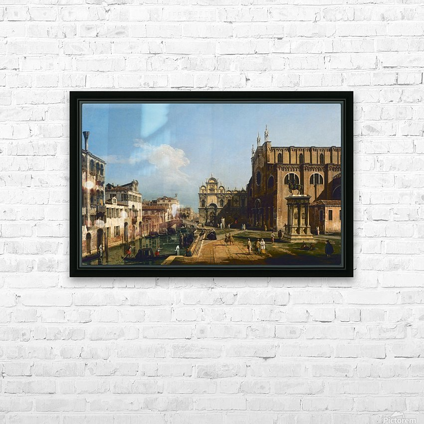 City moments HD Sublimation Metal print with Decorating Float Frame (BOX)