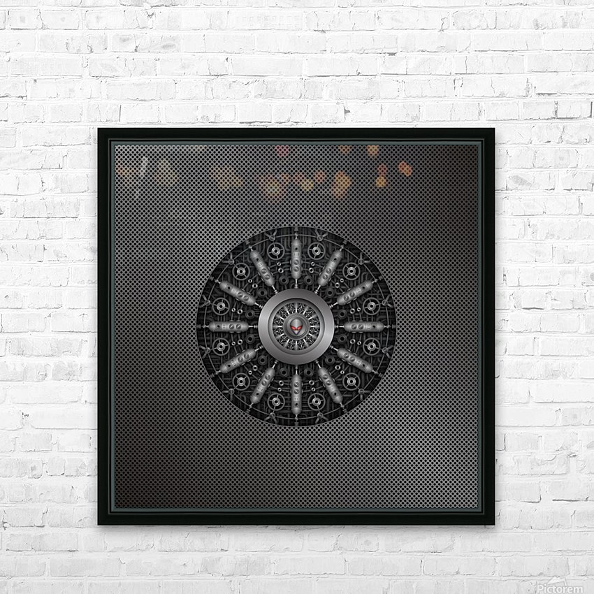 Altered Carbon Collider HD Sublimation Metal print with Decorating Float Frame (BOX)