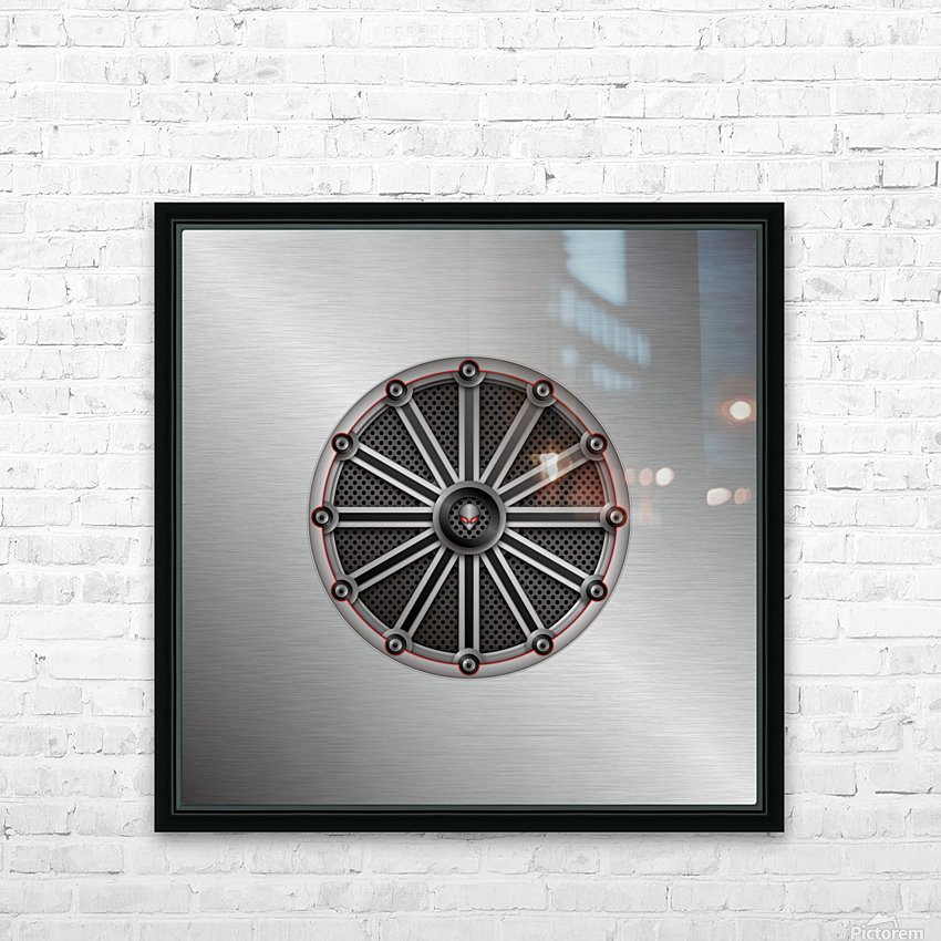 Altered Carbon Fusion HD Sublimation Metal print with Decorating Float Frame (BOX)