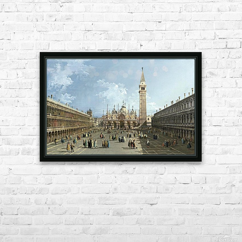 Piazza San Marco HD Sublimation Metal print with Decorating Float Frame (BOX)