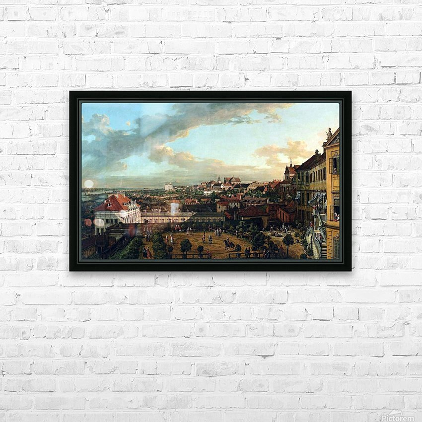 View of Warsaw from the terrace of the Royal Castle HD Sublimation Metal print with Decorating Float Frame (BOX)